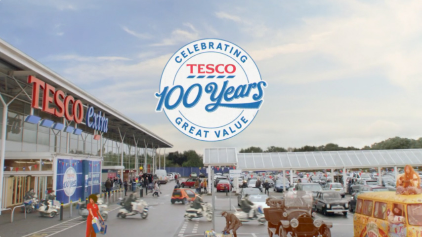 Tesco 100 years